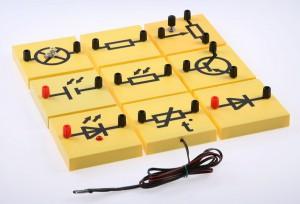 Набор для исследования тока в полупроводниках и их технического применения(Электричество-2)
