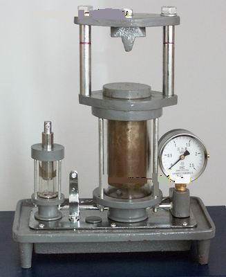 model gidravlicheskogo pressa